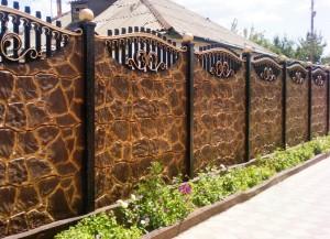Як пофарбувати бетонний паркан