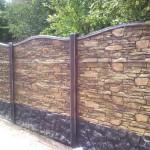 Чим пофарбувати бетонний паркан