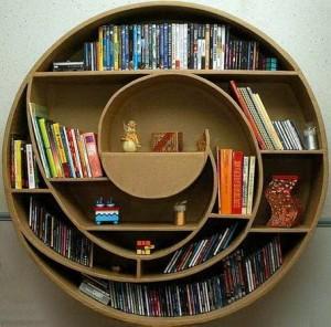 Незвичайна книжкова полиця