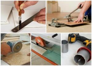 Як різати плитку - інструмент і способи