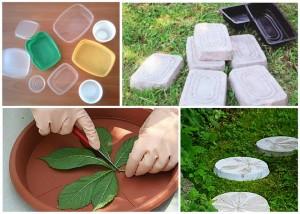 Пластикова форма для виготовлення плитки своїми руками