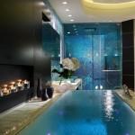 Ванна вбудована в підлогу