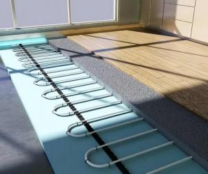 Водяна тепла підлога під ламінат