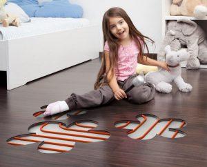 Тепла підлога під ламінат: водяна, електрична, плівкова