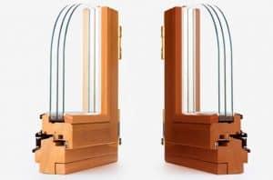 Переваги сучаних вікон з дерева